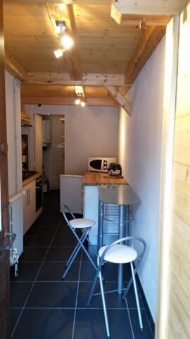 T 2 pour 2 au Praz de Chamonix en rez de chaussé - Chamonix-Mont-Blanc - Apartment