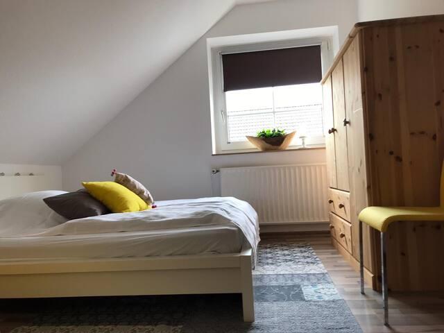 Zimmer zum Wohlfühlen in ruhiger Lage