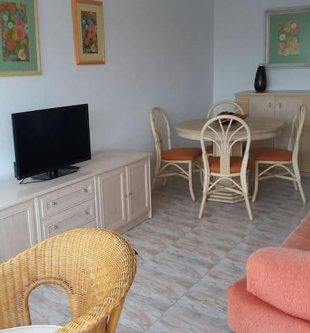 SANTIAGO DE LA RIBERA A 5MINUTOS DEL AEROPUERTO - San Javier - Apartamento