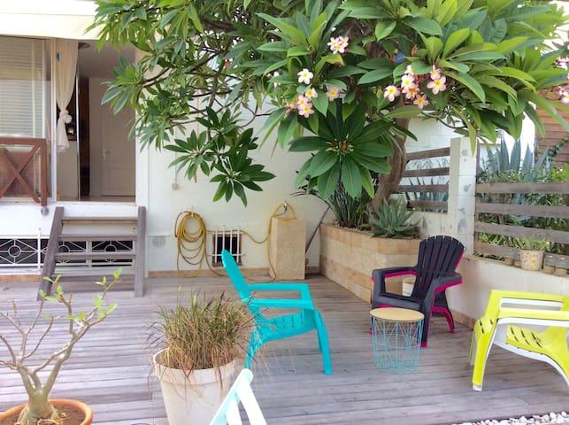 Appartement de Charme en bord de mer - La Saline-Les-Bains - Appartement