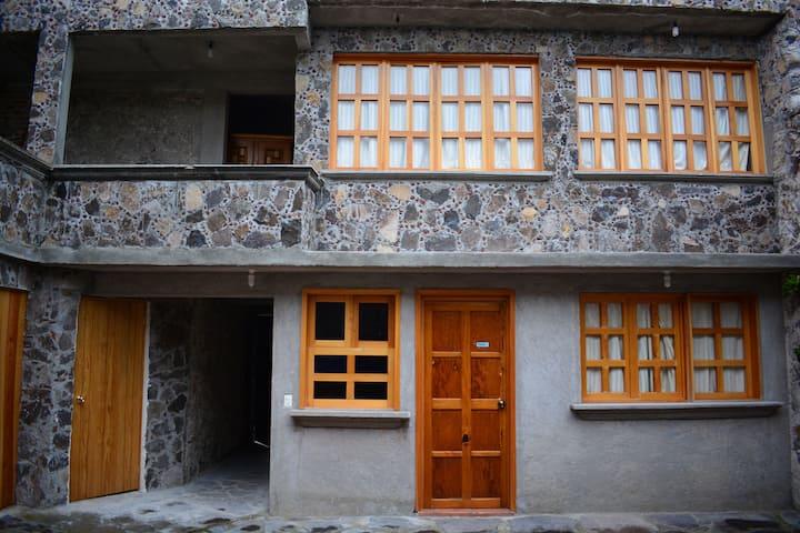 Cuarto privado en Hacienda de Tepet. - Bugambilia