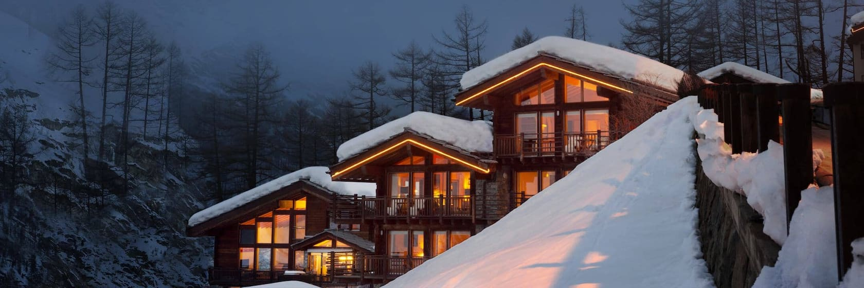 Luxury rentals in Swiss Alps