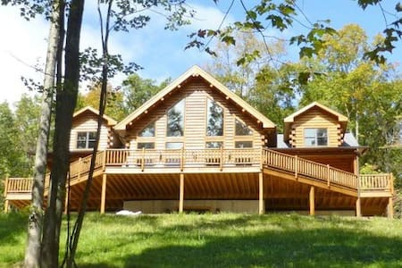 Bear's Paw Lodge - Rustic Mountain Escape - Huntingdon - กระท่อม