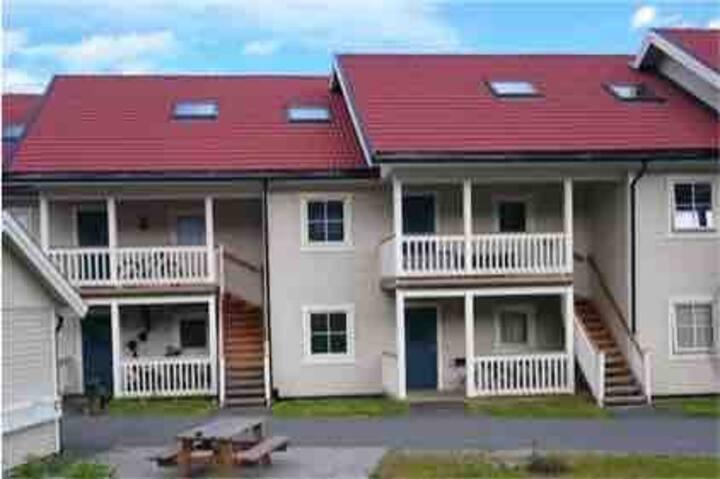 Modern leilighet, flott utsikt og sentralt