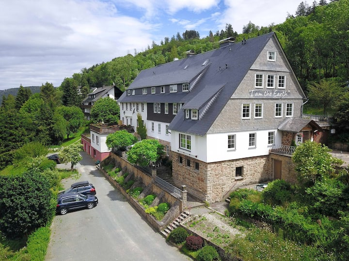 B&B Sauerland TCF with organic breakfast