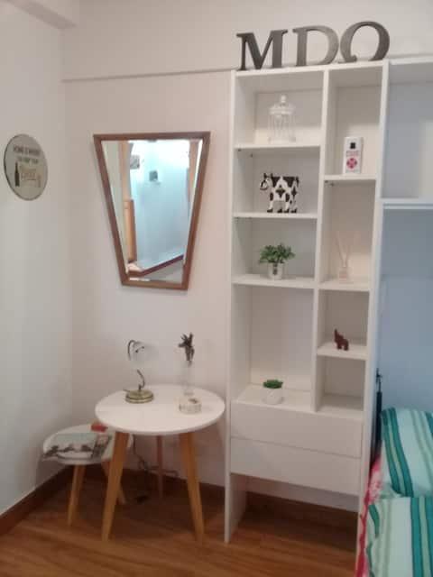 Alquilo apartamento Monoambiente MDQ