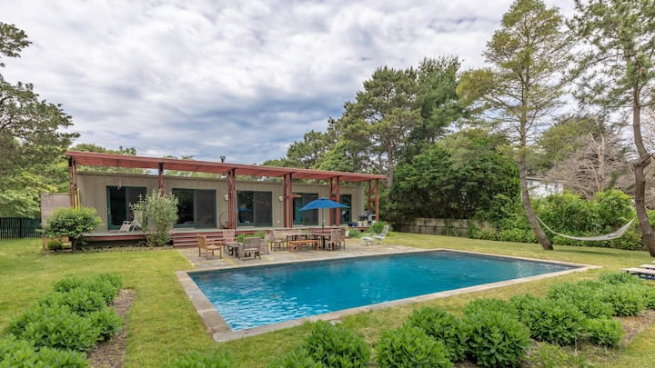 New Listing: Pre Fab Modern and Environmentally Friendly, Close to Town & Beaches