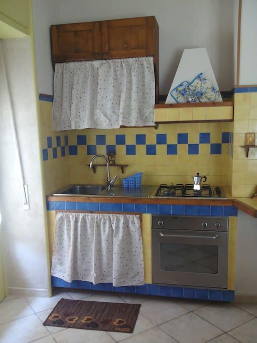 Angolo cucina in muratura