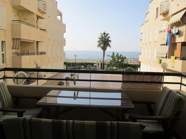 Bonito apartamento a pie de playa - Benajarafe - Wohnung