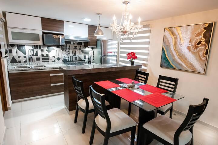 The Luxury Apartment 3 min to ZonaDorada Beach !