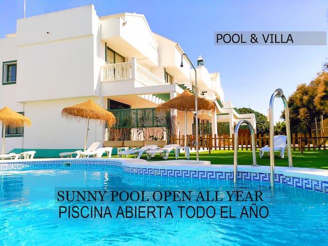 Estudio en Roquetas Beach & Playa Serena Golf
