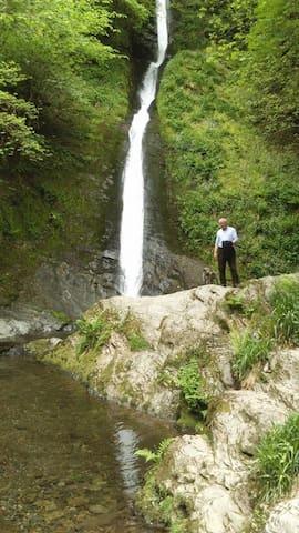White Lady Falls; Lydford Gorge