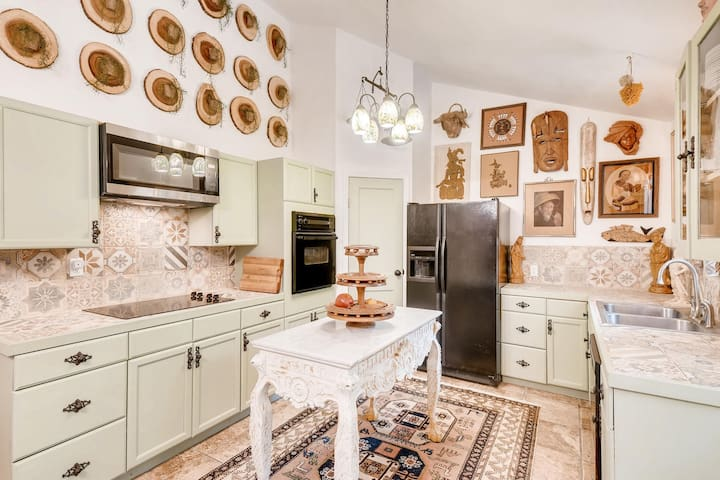 Whimsical Downtown Dripping Springs Home