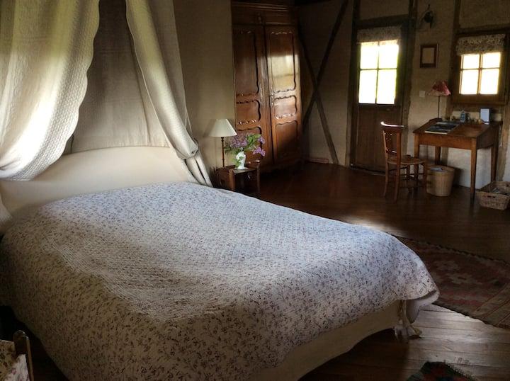 Chambre double-Confort-Salle de bain privée