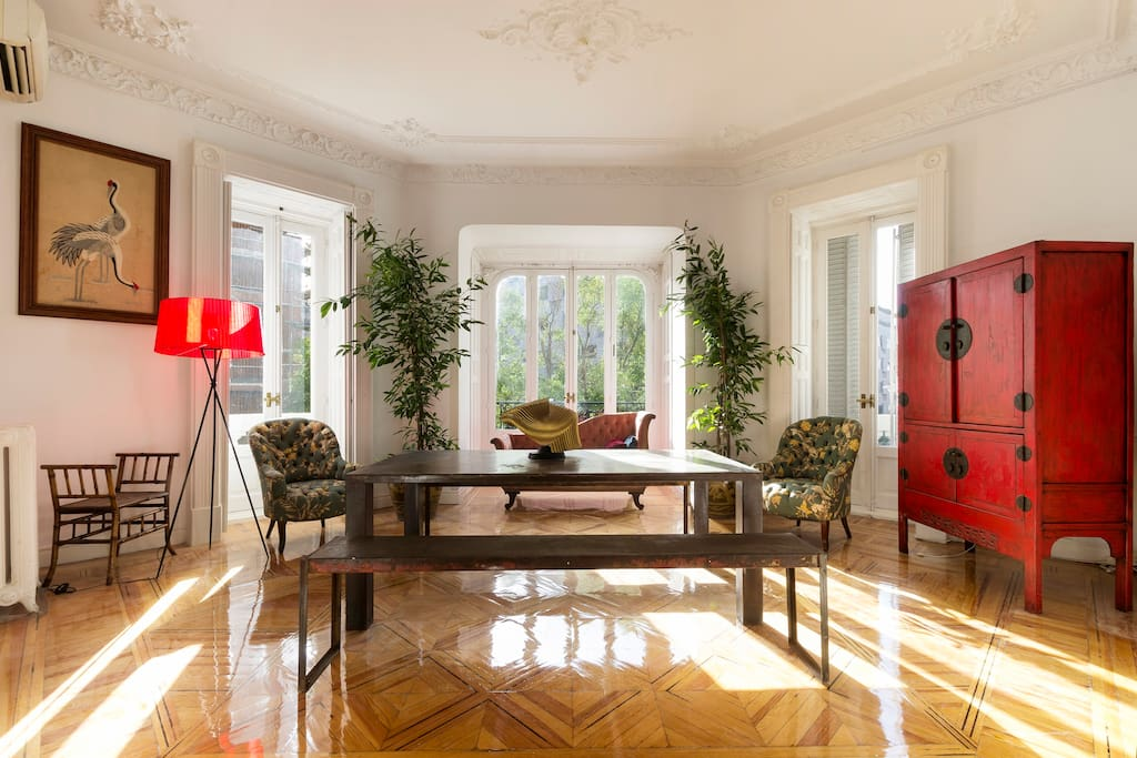 Central exclusive classic modern appartements en - Les luxueux appartements serrano cero madrid ...
