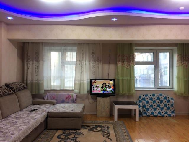 Comfy apartment 5 minutes from City Centre! - Ulaanbaatar - Lejlighed