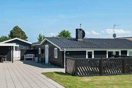 Casa de vacaciones elegante cerca de Haderslev con terraza
