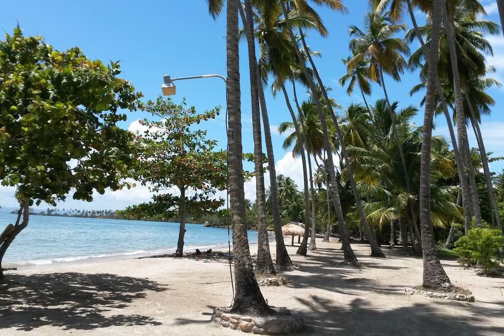 Las Pascualas beach