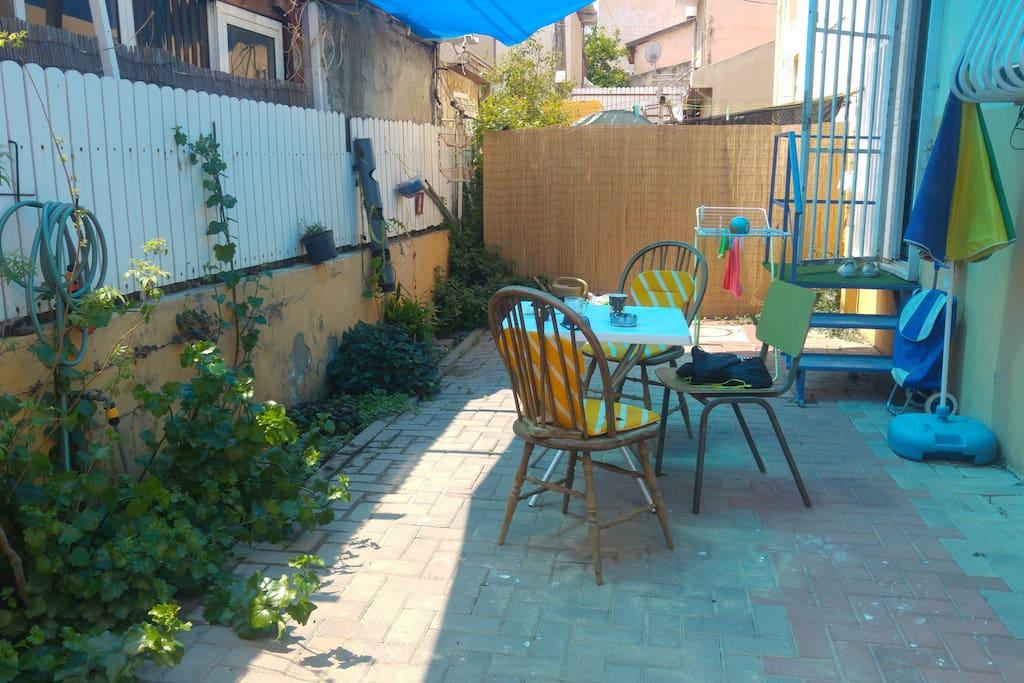 back yard (private)
