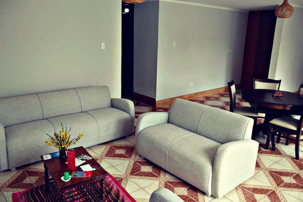 Un buen espacio para relajarse