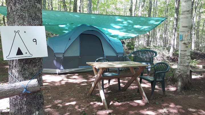 (Tent included)...Hassel-Free Camping