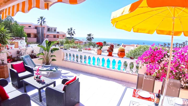 Wonderful apartment with ocean view in Costa Adeje