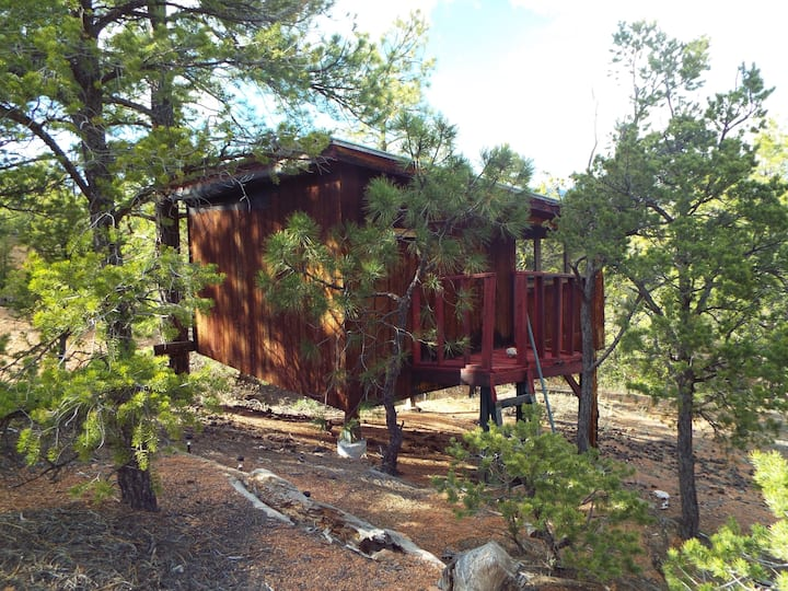 Sunrise Treehouse at Santa Fe Treehouse Camp