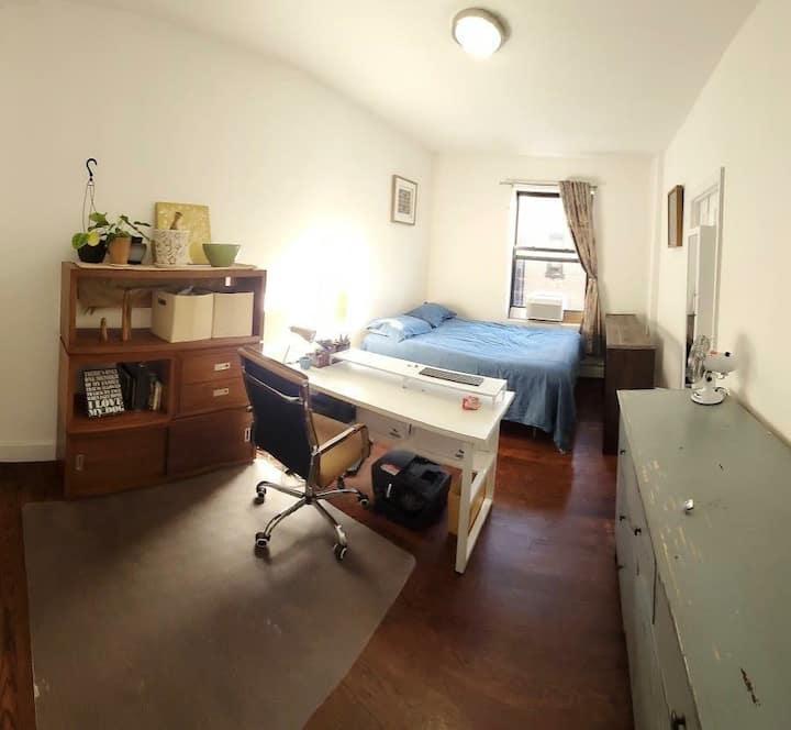 Large Bedroom + Private Bath in Upper Manhattan