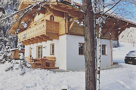 Hinterrohr Lodge direkt am Badesee - Flachau - Haus