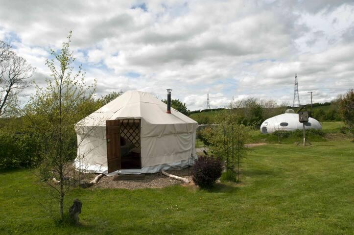 Rosebud Yurt