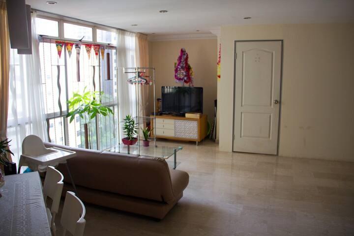 Condo room with private bath - Singapore - Kondominium
