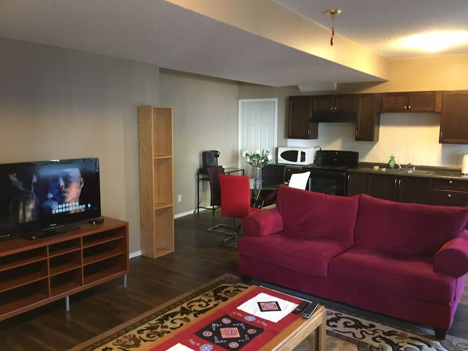 Full Suite Of 1 Bedroom Walkout Basement Apartments For Rent In Calgary Alberta Canada