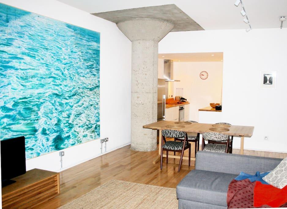 huge central london loft apartment - Apartments for Rent ...