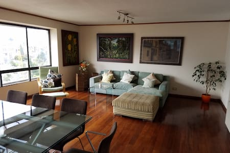 Welcoming and comfortable apartment north-downtown - Quito