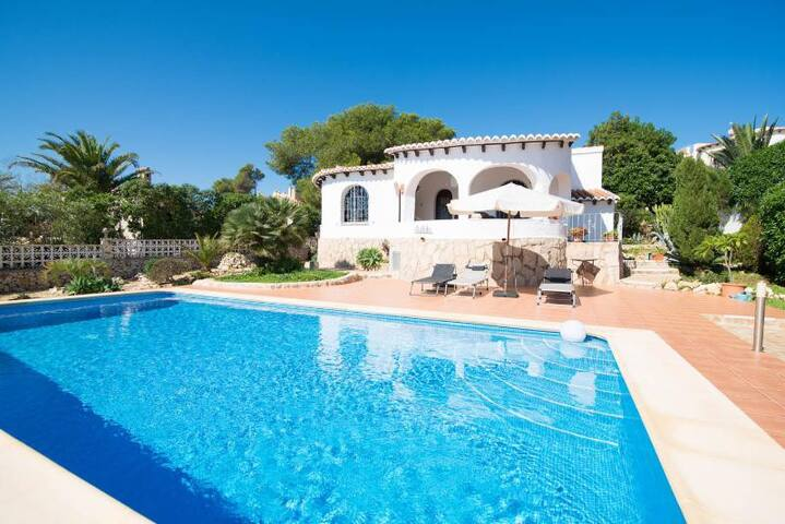 Beautiful Spanish villa with pool - Jávea - Villa