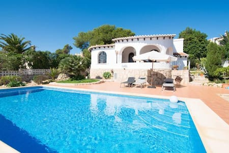 Beautiful Spanish villa with pool - Xàbia - Villa