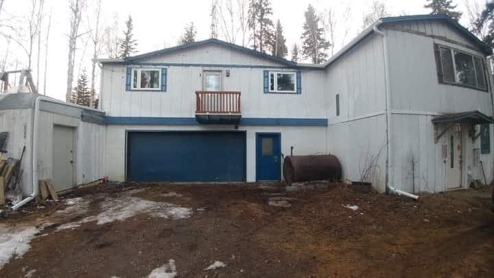 Great Alaska R&R Inn West of Fbks, AK Whole house