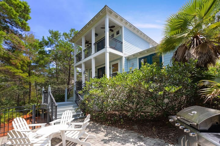 Large Outdoor Entertainment Area - Newly Updated - Near Rosemary and Alys Beach!
