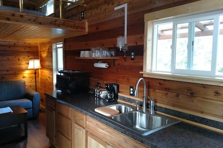 Creekside Tiny Home Vacation