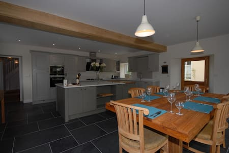 Fully restored farmhouse in delightful setting - Ashcott - Casa