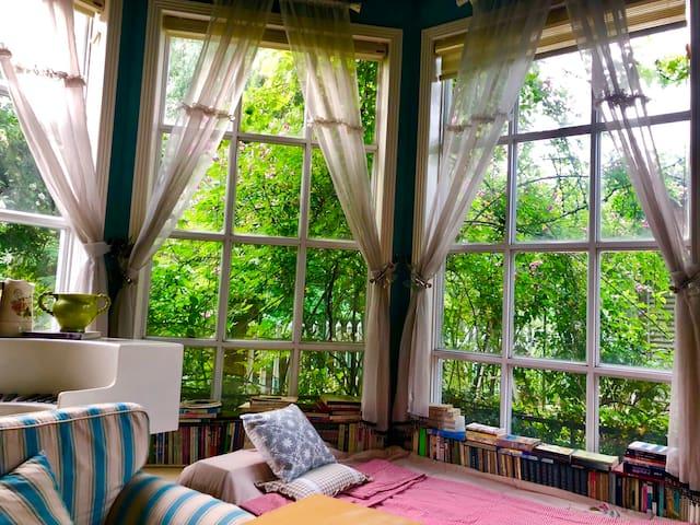 【浪漫满屋】距离鲁迅故里、东湖、仓桥直十分钟左右车程的花园别墅
