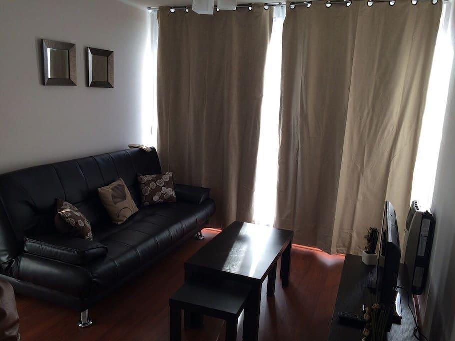Sala de estar televison Futon