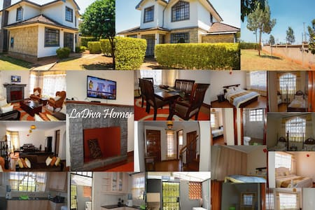 Edenville Serene Townhouse, private rooms - Nairobi - Talo