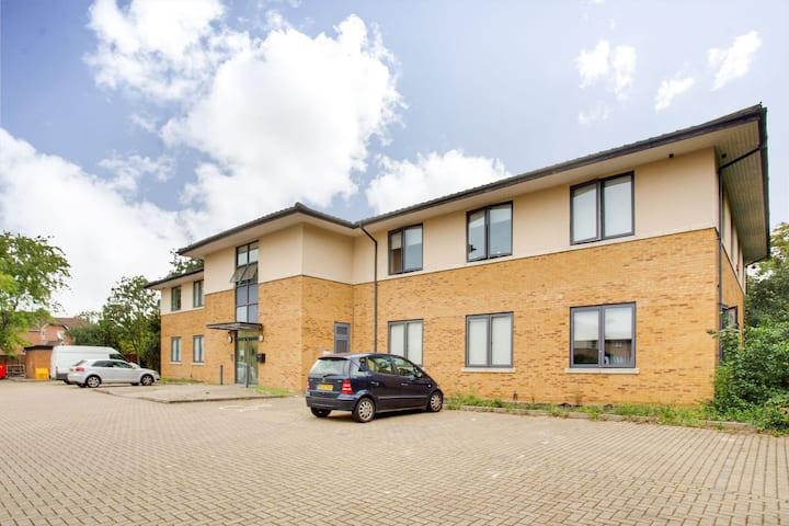 Comfortabel appartement in Milton Keynes bij het centrum