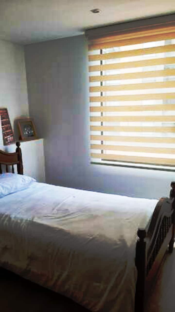 Cuarto privado con Closeth y vista al exterior