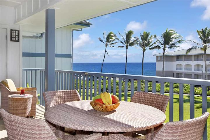 "Poipu Sands Spacious ""A/C Mast&Guest Bed"" Amazing Sunset *Poipu Sands 425*"