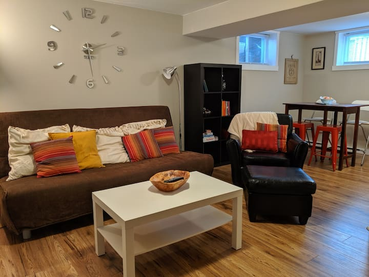 Bright Spacious Apartment - newly renovated