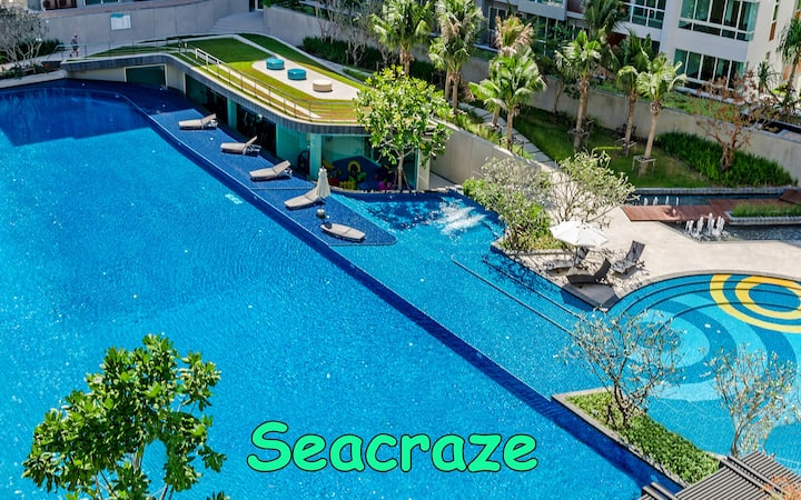 SEACRAZE D702 | Spectacular Pool | Near Beach