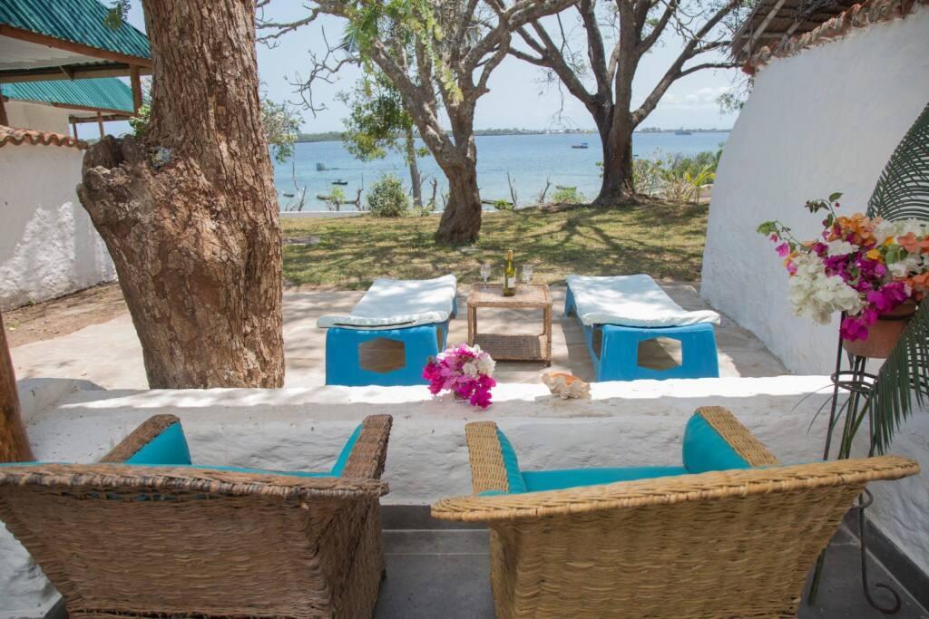 Private veranda and sun terrace