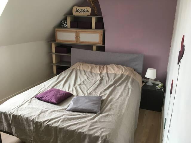 1 ou 2 Chambres calmes et confortables